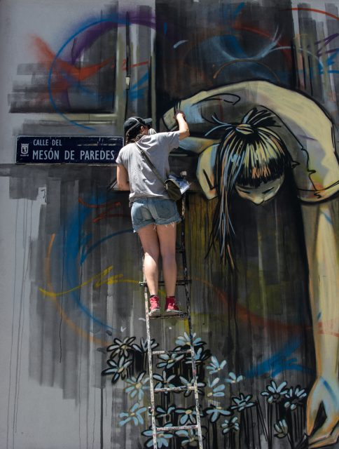 Alice Pasquini - MurosTabacalera by Guillermo de la Madrid - Madrid Street Art Project-13-2