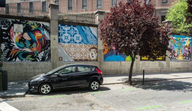 Conjunto - MurosTabacalera by Guillermo de la Madrid - Madrid Street Art Project final